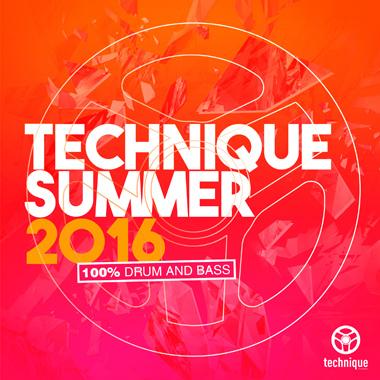 Technique Summer 2016 album cover